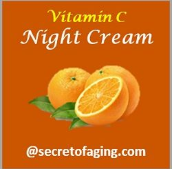 Vitamin C Night Cream by Secret of Aging