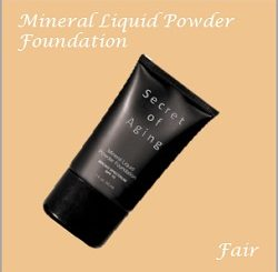 Fair Mineral Liquid Powder Foundation by Secret of Aging