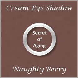 Cream Eye Shadow Naughty Berry by Secret of Aging