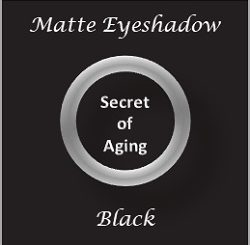Matte Eyeshadow Black by Secret of Aging