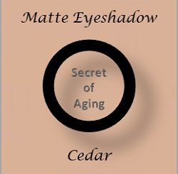 Matte Eyeshadow Cedar by Secret of Aging