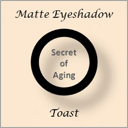Matte Eyeshadow Toast by Secret of Aging