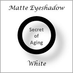Matte Eyeshadow White by Secret of Aging