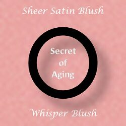 Sheer Satin Blush - Whisper Blush