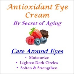 Antioxidant Eye Cream Care Around Eyes