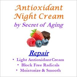 Antioxidant Night Cream Repair