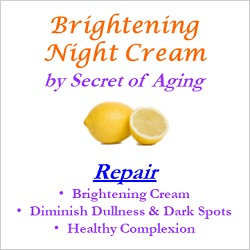 Brightening Night Cream Repair