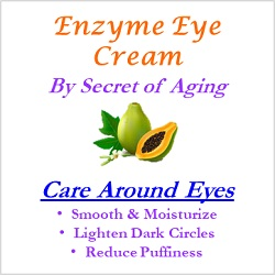 Enzyme Eye Cream Care Around Eyes