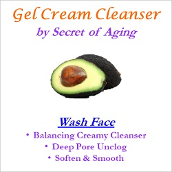 Gel Cream Cleanser Wash Face