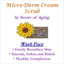 Micro-Derm Cream Scrub Wash Face