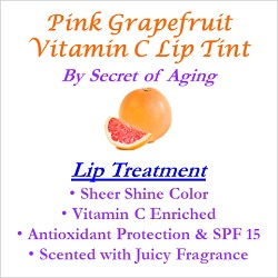 Pink Grapefruit Vitamin C Lip Tint Treatment