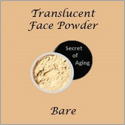 Translucent Face Powder Bare by Secret of Aging