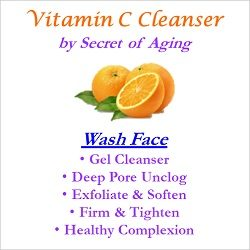 Vitamin C Cleanser Wash Face